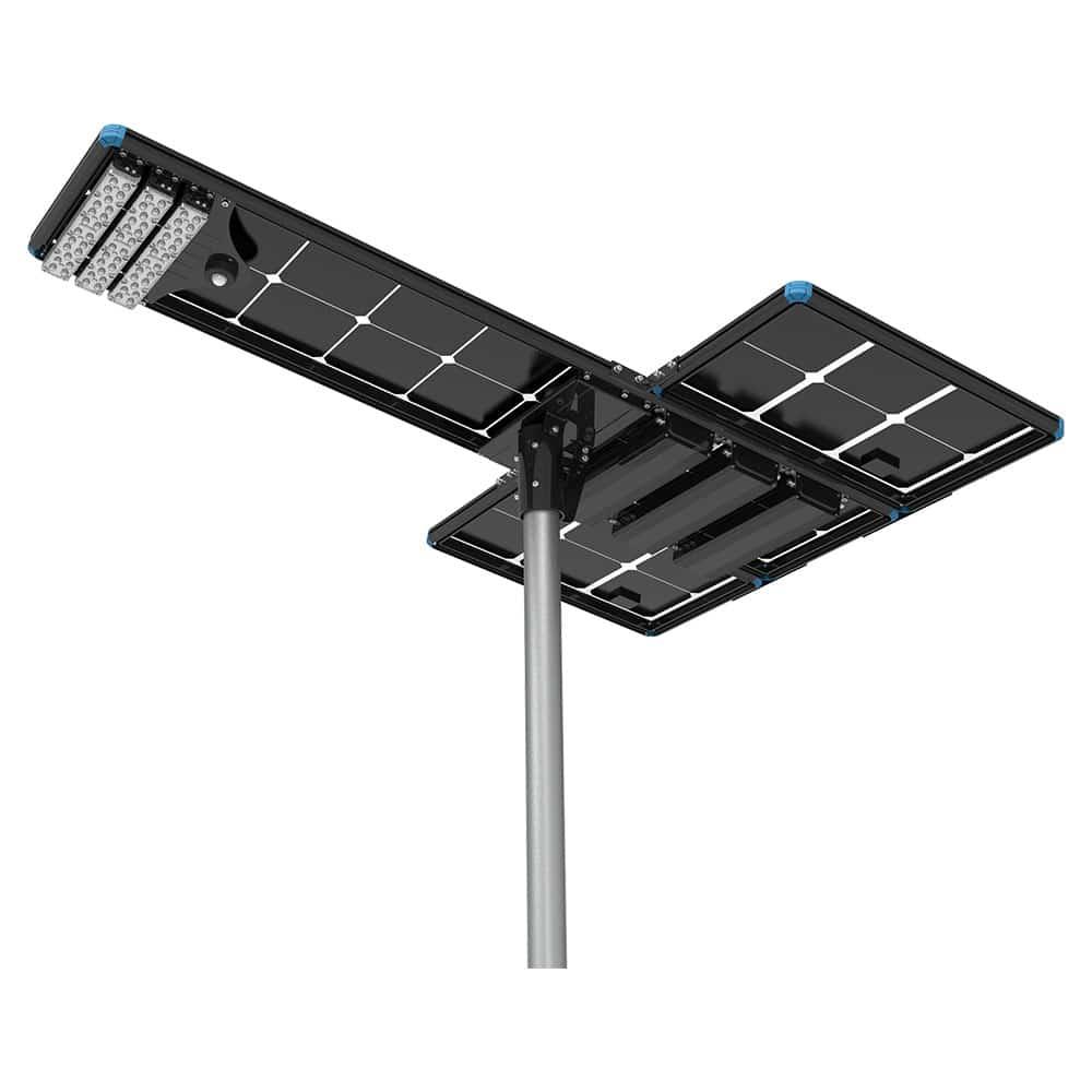 120W All In One Solar LED Street Light
