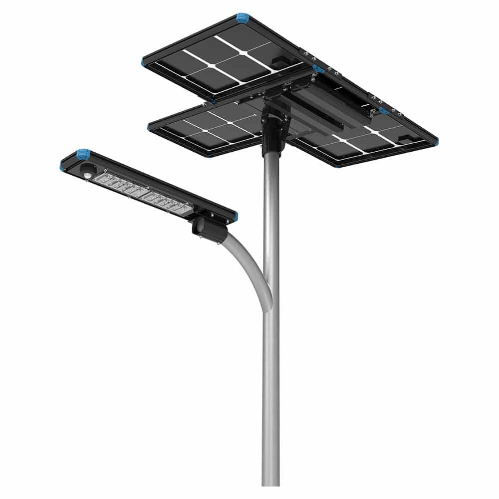 120W All In Two Solar LED Street Light
